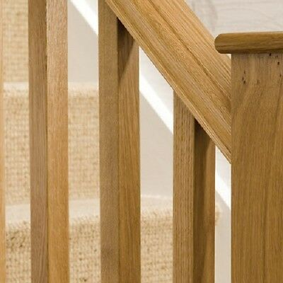 OAK BLANK STAIR SPINDLES  32mm x 32mm x 900mm  BOX OF 36 slight seconds .