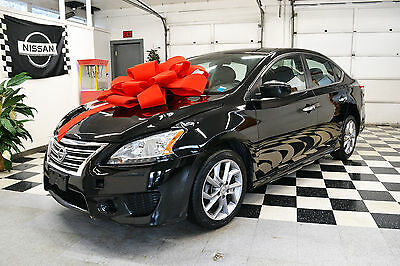 2013 Nissan Sentra  2013 4dr Sdn SR CVT Certified Rebuildable Car Repairable Damaged Wrecked