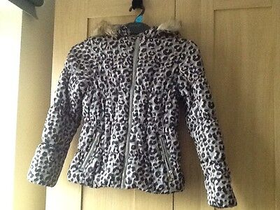 Girls H&M coat age 9-10