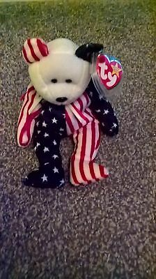 TY Beanie Babies Spangle the Bear