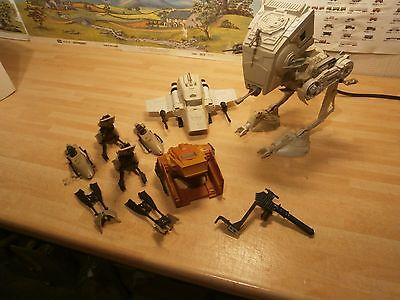 Star Wars Scout Walker And Mini Rigs