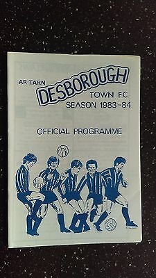 Desborough Town V Long Buckby 1983-84