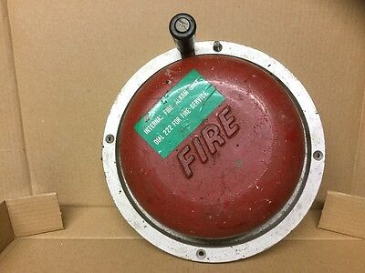 fire bell, manual
