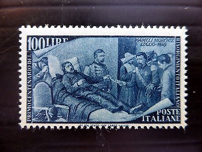 ITALY 1948 - 100L SG717 Lightly Mounted Mint Cat £140 NEW PRICE FP8525