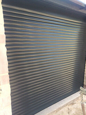 Electric Garage Door Anthracite Grey 8Ft X 8Ft New Insulated Ce Appoved
