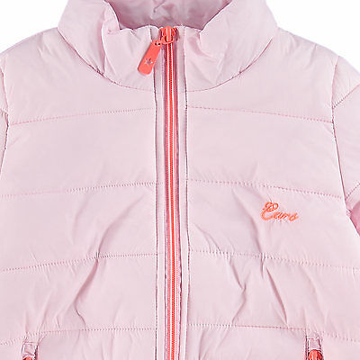 New Lovely Girls 9-10 years CARS JEANS Pink Coat Lightweight Padded Jacket RP£35