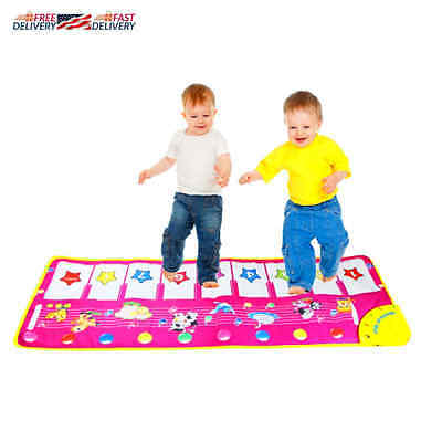 Baby Toddler Kid Gift Musical Piano Mat Development Toy Educational Game Genuine