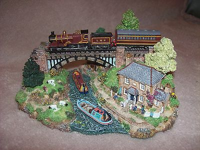 Danbury Mint 'The River Crossing' by Jane Hart Country Lines Collection