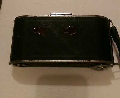 Vintage- Voigtlander Bessa  - Folding  Camera   In Original Canvass  Case