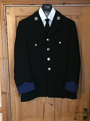 Old, Obsolete, South Wales Police Band Tunic, Shirt And Tie