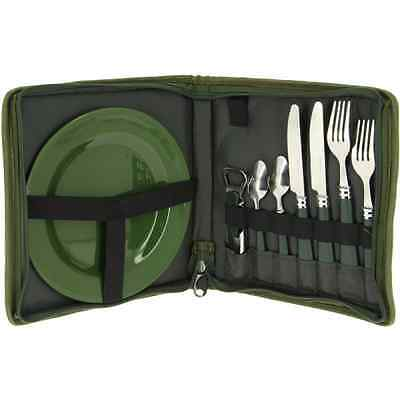 New Ngt Cutlery Plus Set Carp Fishing 2 Person