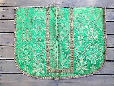 Piece of Antique Silk Eclesiastical Robe
