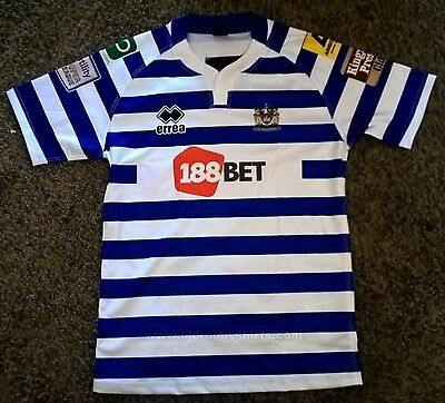 Wigan Warriors Away Shirts BNWT Small Rugby Super League Jersey NRL England