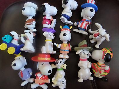 A Collection Of Snoopy Characters