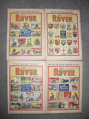 1952 The Rover 1384 1385 1386 1387 (All 4 issues from January)