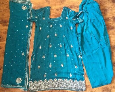 Womens Ladies Designer Indian Asian Suits Shalwar Kameez Suits Clothing
