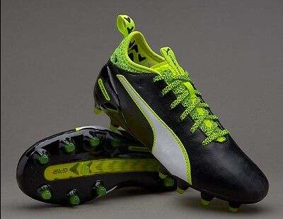 Puma EvoTouch 1 FG Soccer Shoes Football Cleats Boots Mercurial Messi 6Y