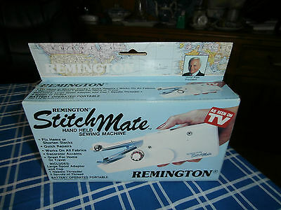 Remington stitchmate hand held sewing machine new in box • EUR 6,55