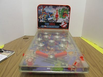 Rare The Real Ghostbusters Tabletop Pinball Ideal 1988 VTG - Free Shipping