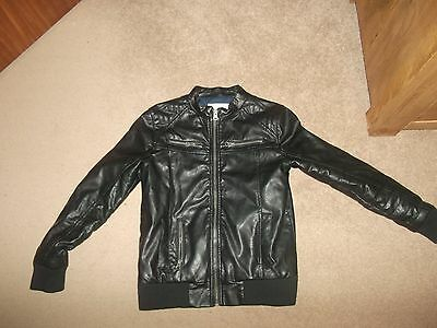 River Island Girls Leather Effect Jacket. Size 11 Years. !!