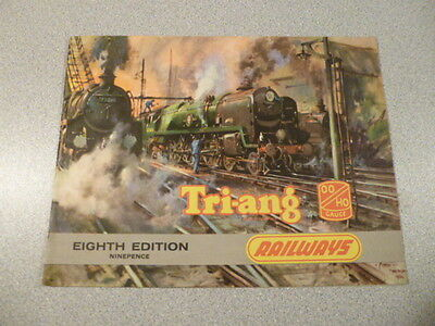 1962 Triang H0/00 Gauge Model Railway Catalogue with Price List