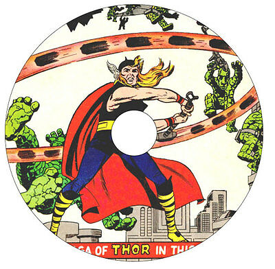 Thor 2 DVD's 596 Comics The Mighty Thor 126 - 622+ Journey into Mystery 83 - 125