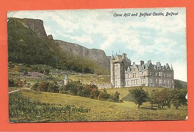 Cave Hill and Belfast Castle, Belfast. Postcard. 1918.