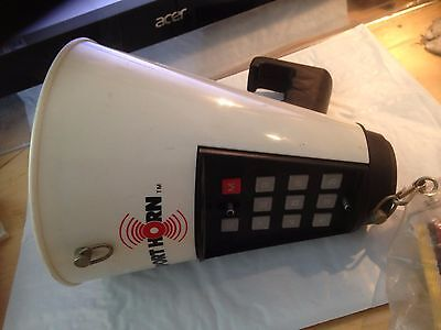 Vintage MegaPhone Horn Calfax Sport Horn College 1981 NCAA Fight 76 Tunes