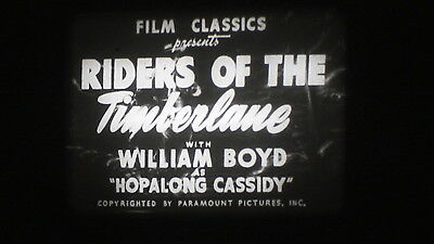 Riders of the Timberline 16 MM William Boyd, Andy Clyde, Brad King