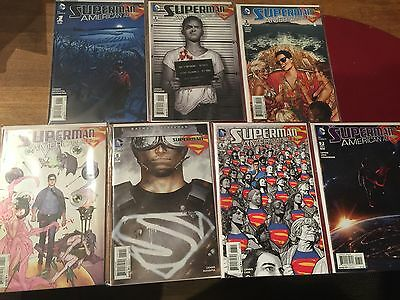 Superman: American Alien #1-7/DC/Nm/First Print/Man of Steal/