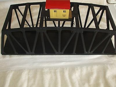 American Flyer Used Truss Bridge With Tender House #750