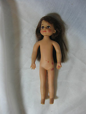 Mattel 1985 Tutti Doll #3570 Red Hair Rubber Nude GUC