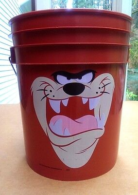 "Unique Tasmanian Devil ""Taz"" 5 Gallon Bucket Warner Bros. Looney Tunes"