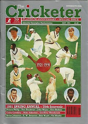 The Cricketer magazine May 1991