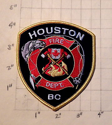 Houston (BC,Canada) Fire Department Patch                  ***NEW***