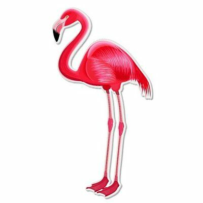 Flamingo Pink Beautiful Vinyl Sticker - SELECT SIZE