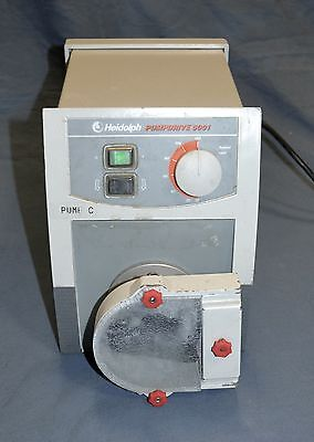 Heidolph PD-5001 Peristaltic Dosing Dispensing Pump Drive +SP 1.6 Stainless Head
