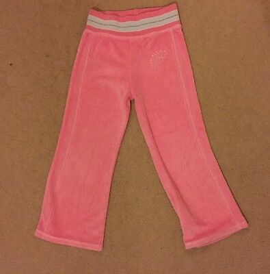 Marks And Spencer's Soft Velour Jogging Bottoms / Tracksuit Trousers Age 3-4