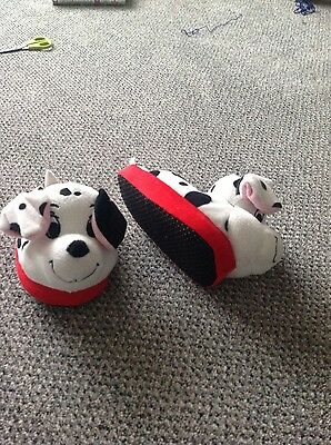 STOMPEEZ SLIPPERS - 101 Dalmations extra small