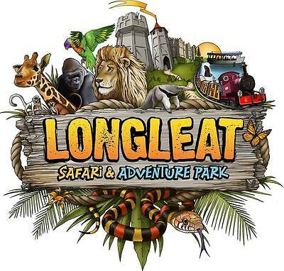 1 X Longleat Safari 1 Day Entry Token Code - Use Anday Anytime - Adult Or Child