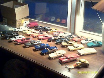 Built Model Car Lot 1/24 1/25 scale 30 cars