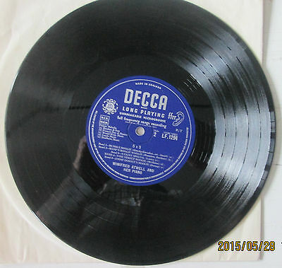"""WINIFRED ATWELL.""""5 BY 5"""". (RAGS & BOOGIE).. RARE DECCA 10"""" 33rpm LP."""