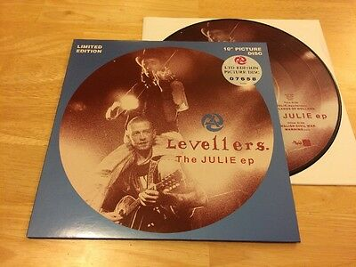 """Levellers - The Julie EP 10"""" Limited Edition Picture Disc"""
