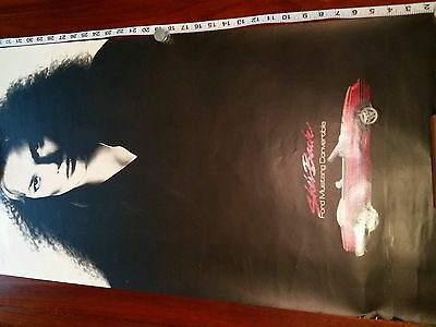 Original SHE'S BACK FORD MUSTANG CONVERTIBLE Store Advertising Poster
