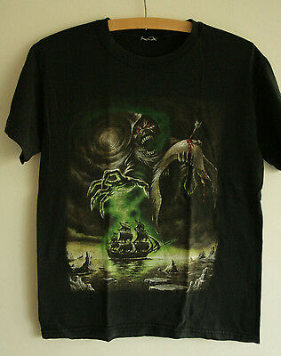 Iron Maiden Rime Of The Ancient Mariner Shirt - Small