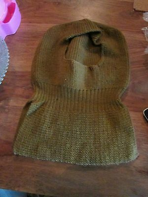 WW1 US Knitted Soldier'sTorque / Hat