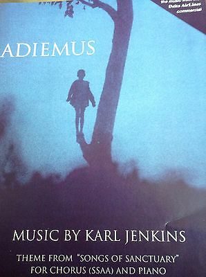 Karl Jenkins: Adiemus (SSAA). Theme From Songs Of Sanctuary Choral Sheet Music