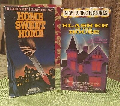 Home Sweet Home/slasher In The House Vhs Rare Oop