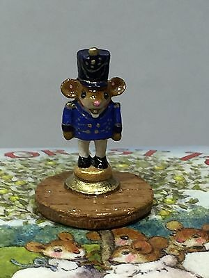Wee Forest Folk Tiny Nutcracker RARE! Only 30! Special Limited -7 DAY LISTING