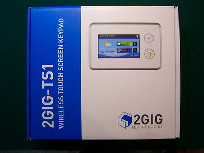 2GIG-TS1 Wireless Touch Screen Keypad Firmware v1.14 New in Box